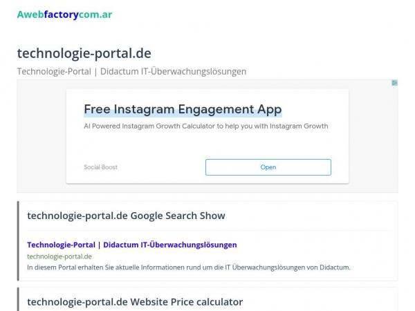 technologie-portal.de.bitverzo.com