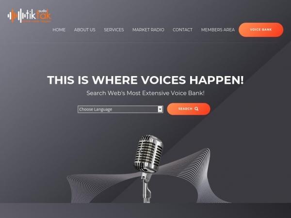 tiktakaudio.com
